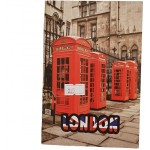 Carnetel London 40 file, 155x105mm, 50g/mp