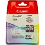 Cartus Canon COMBOPG-510/CL-511