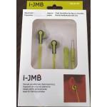 Casti handsfree tip dop cu microfon JMB CB-E151 neon