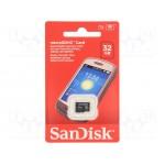 Card de memorie SanDisk MicroSDHC, 32GB, Class 4