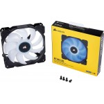 Ventilator Corsair Air Series AF140, 140mm, LED White, Low Noise Cooling Fan