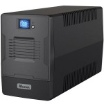 UPS MUSTEK Line Int. cu management, LCD, 1500VA/ 900W, AVR, 2 x IEC & 2 x Shucko, display LCD, USB, combo RJ45, Fan