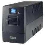 UPS MUSTEK Line Int. cu management, LCD, 600VA/ 360W, AVR, 4 x socket IEC, display LCD, USB, combo RJ11