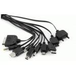 Adaptor USB universal cu 10 iesiri