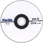 Blu-ray Fortis (blank) 25GB