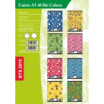 Caiet A5 Matematica, 48 file Paperland