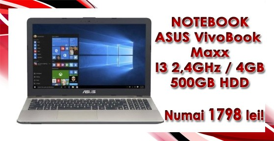 NOTEBOOK 15.6'' ASUS VIVO BOOK MAX X541U
